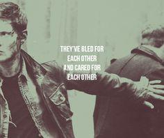 Dean & Benny #Supernatural #BloodBrother