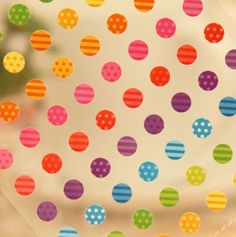 Tiny Dot Stickers - perfect for planners, journals, calendars, scrapbooking - One Point Seal by PaperHaberdashery on Etsy