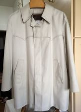 True Vintage Anderson-Little Mens 3/4 trench coat sz 46  Mod Hipster 1960s 1970s