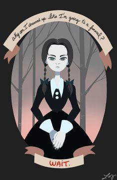 Wednesday Addams by ishimaru-miharu.deviantart.com on @DeviantArt