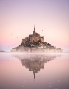 The magical Mont Saint Michel in Normandy, France. Beautiful Places In The World, Beautiful Places To Visit, Mont Saint Michel, Visit France, Illustrators On Instagram, France Travel, Landscape Photographers, Monument Valley, Travel Inspiration