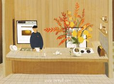 Oamul Lu's Paintings Capture The Beautiful Details of Every Day Life
