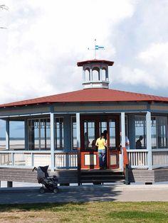 Pavilion | Haapsalu Pavilion, Gazebo, Outdoor Structures, Places, Summer, Summer Recipes, Sheds, Summer Time, Verano