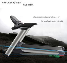 Máy chạy bộ điện MCT-5517A