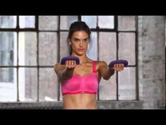 Victoria's Secret - Train Like An Angel 2014. Alessandra Ambrosio's arm workout from  trainer Justin Gelband.