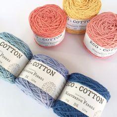 Nurturing Fibres Eco-Cotton  - DK Knitting Yarn - Nurturing Fibres