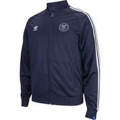 Represent New York's newest club with an official New York City FC track jacket! Now available for $60. #NYCFC