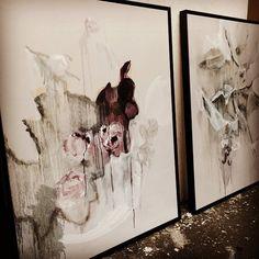 #gulls and #roses #artwork © #BenLowe