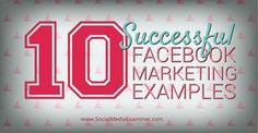 Need some inspiration to pump up your Facebook marketing? Check out these tips from Andrea Vahl