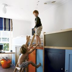Kids' room   Take a tour around a grand townhouse in Notting Hill   house tours   modern and contemporary ideas   housetohome