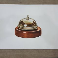 So Realistic Bell 3d Drawings, Realistic Drawings, Pencil Drawings, White Gel Pen, White Acrylic Paint, 3d Drawing Techniques, Pitt Artist Pens, Texture Drawing, Pencil Shading
