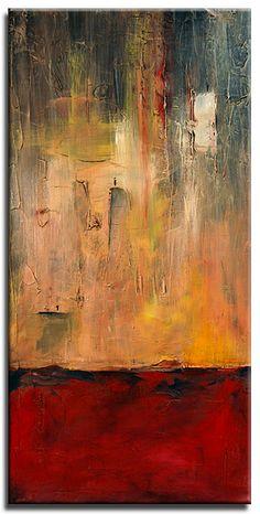 "Three Story Building - 2007 - Acrylic on Canvas - 18""x36"""