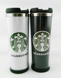 Cup Starbucks Double Wall Coffee Mug Tumbler Stainless Steel Travel Cups 14Oz