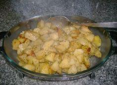 Batatas fingidas