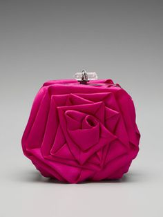 marchesa rose clutch bag