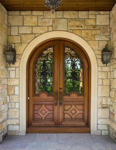 $3.2 Million European Style Country Estate in New Hope, Pennsylvania - Front Door