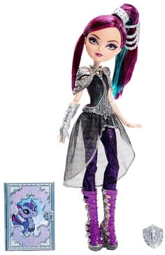 Ever After High Dragon Games Raven Queen Doll - Doll
