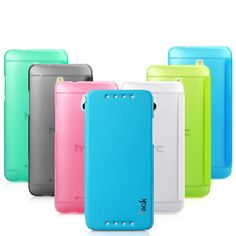 Free Shipping!!!imak shell leather case for HTC one mini m4 601e $9.98