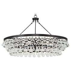 Large Bling chandelier... yes it has Bling in it's name...but i need that to offset all the industrial!:)