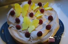 Zitronen-Baiser Kuchen