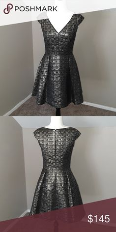 f88e7dcf72d7 Kate Spade Saturday Baroque Cape Dress Worn once, mint condition, black and  gold,