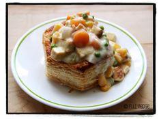 Vol-au-vent aux légumes et au tofu | Full vedge - Recettes végétariennes et gourmandes!