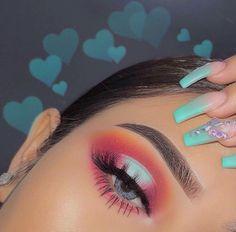 Makeup Eye Looks, Eye Makeup Art, Natural Eye Makeup, Cute Makeup, Pretty Makeup, Skin Makeup, Eyeshadow Makeup, Eyeshadows, Simple Eyeshadow