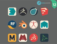 "Check out new work on my @Behance portfolio: ""12 iCons 3D app."" http://be.net/gallery/44592099/12-iCons-3D-app"