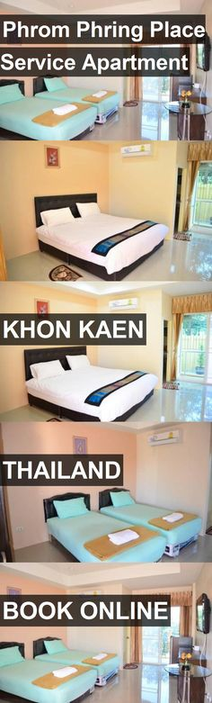 Hotel Phrom Phring Place Service Apartment in Khon Kaen, Thailand. For more information, photos, reviews and best prices please follow the link. #Thailand #KhonKaen #PhromPhringPlaceServiceApartment #hotel #travel #vacation