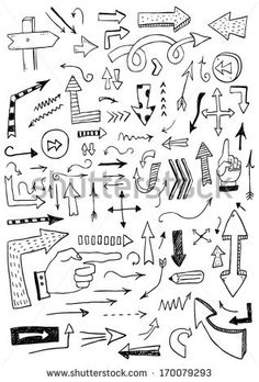 Hand drawn arrows by Orfeev, via Shutterstock
