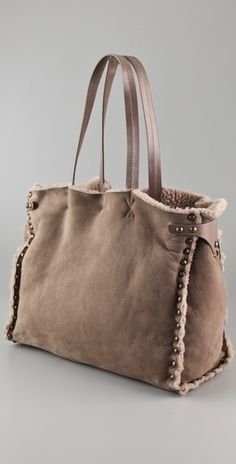 53404c73511e Ash Odette Shearling Tote. Craft BagsDiy ...