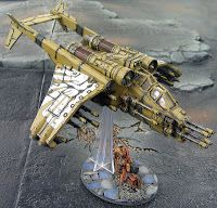 Spikey Bits Warhammer 40k, Fantasy, Conversions and Painted Miniatures: Valkyrie Gunship Conversion: More Guns Is More!