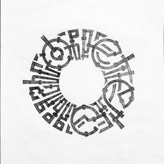 837 отметок «Нравится», 5 комментариев — Andrey Martynov (@remrk) в Instagram: «Эксперименты #каллиграфия #кириллица #вязь #леттеринг #набросок #скетчбук #calligraphy #lettering…»