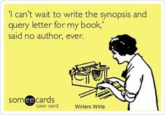 YEAH- I'm gonna write a query letter and synopsis.