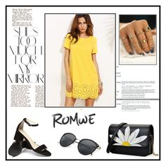 """""""Yellow"""" by musicajla ❤ liked on Polyvore featuring Rika"""