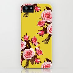 HAPPY FLORAL iPhone & iPod Case by Miss Modern Shop - $35.00