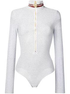 Turtleneck Bodysuit, Girl Fashion, Fashion Outfits, Size Clothing, Women Wear, Turtle Neck, Zip, Tees, Long Sleeve