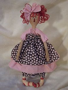 "rag doll Pinky Annie 20""   pattern for sale"