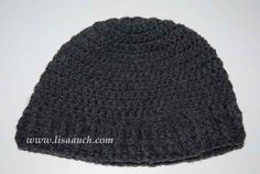 mens crochet hat patterns-free crochet patterns