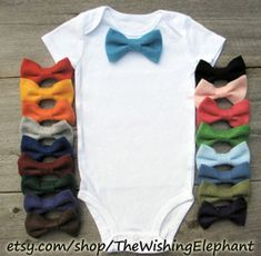 interchangeable bow tie on onsie + 100 other uses for KAM Snaps