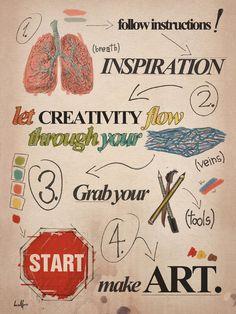 simple instruction to make ART Classroom Posters, Art Classroom, Classroom Ideas, Art Room Posters, Creative Workshop, Creative Art, Creative Ideas, Middle School Art, Art School