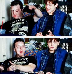 Ian and Mickey #Gallavich