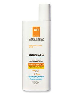 La Roche-Posay Anthelios Ultra Light Fluid SPF 60, Best 2014 Facial Sunscreen, from #instylebbb