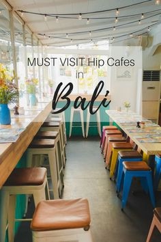 There are a number of cute cafes around Bali that you must visit. For those who are looking for Instagram worthy cafes that offer good food as well, this one's for you. Here are some of the cafes we visited during our trip to Bali.