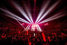 원본 이미지 Ikon Wallpaper, Concert Stage, Hanbin, Yg Entertainment, Bigbang, In This World, Ocean, Kpop, Artists