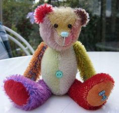 Patchwork Parker by By Haven Bears | Bear Pile