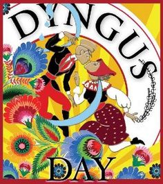 Dyngus Day - I grew up only knowing the connection to politics. My husband's grandmas filled me in years later about boys switching the legs of girls. And if no one came to your home to switch your legs, it was a slight on the family.