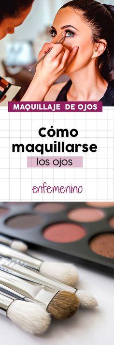 ¡Aprende a maquillarte los #ojos con estos consejos! #makeup #maquillaje #belleza