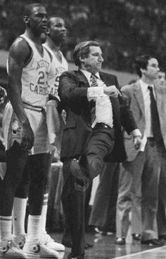 Michael Jordan Unc, Michael Jordan Pictures, Michael Jordan Basketball, Jordan 23, Air Jordan, Basketball History, College Basketball, Carolina Pride, Basketball Motivation