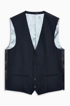 Next Weste für 71,00€. Aus Materialmix mit Schurwolle, Design aus England, 5-knöpfig, Nur chemische Reinigung bei OTTO